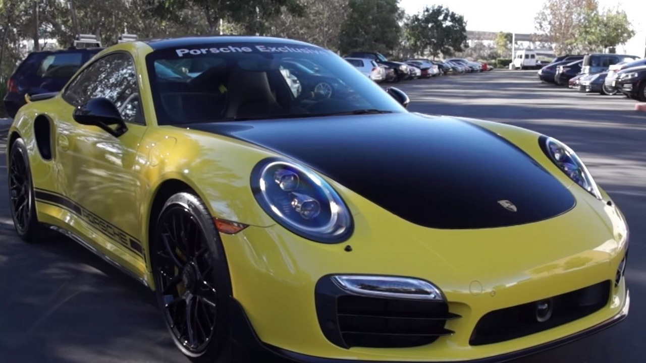 Porsche Exclusive 911 Turbo S is Bumblebee material