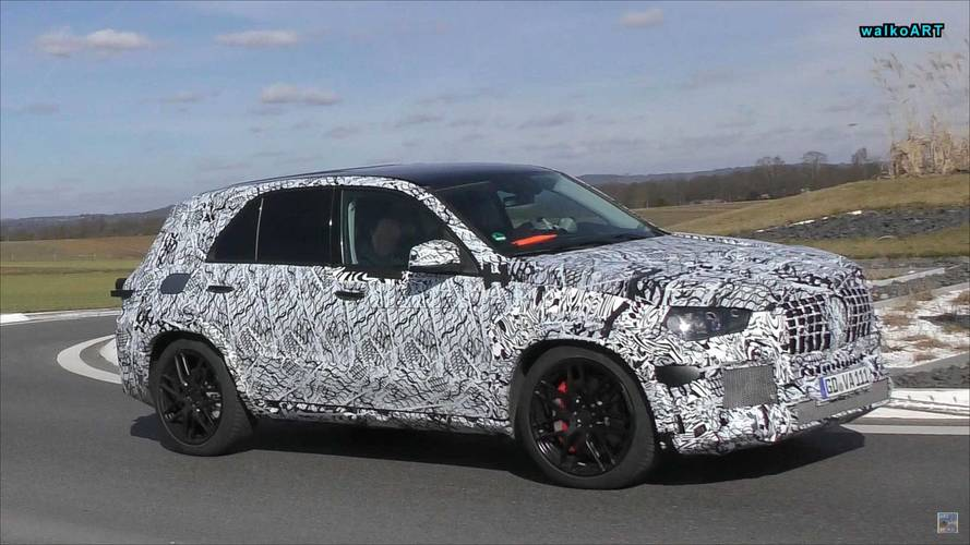 New Mercedes GLE Spied On Video In Hot AMG 53 And 63 Flavors