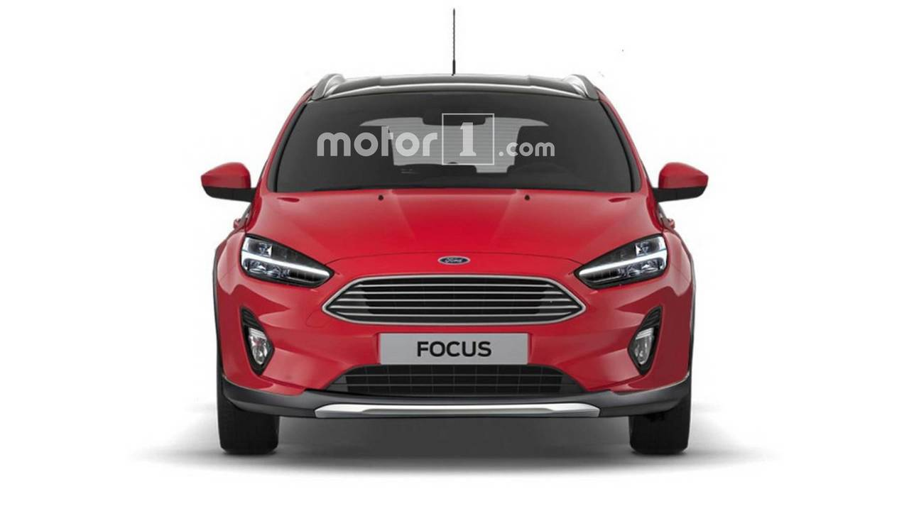 2019 Ford Focus Active rendering