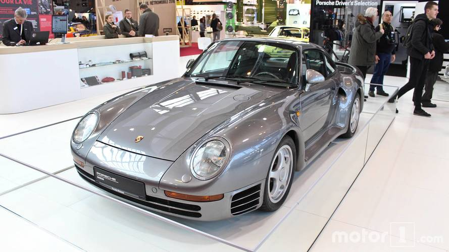 Porsche au Salon Rétromobile 2018