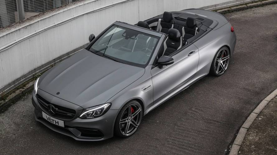 211-MPH Mercedes-AMG C63 By VATH Has More Horsepower Than An S65