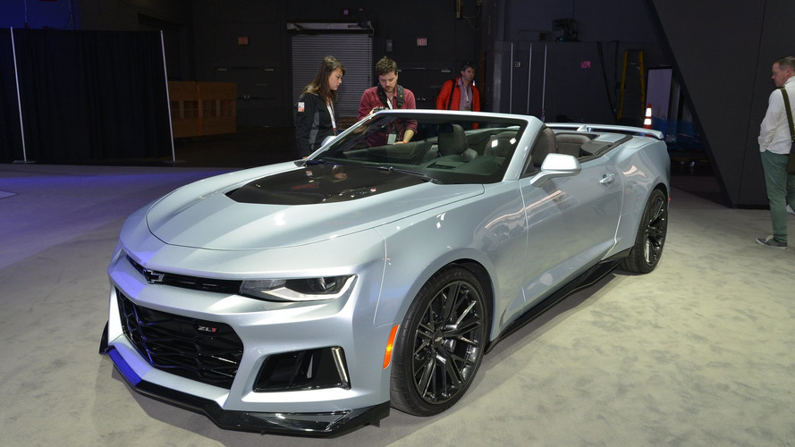 Chevy drops the top on the Camaro ZL1 Convertible