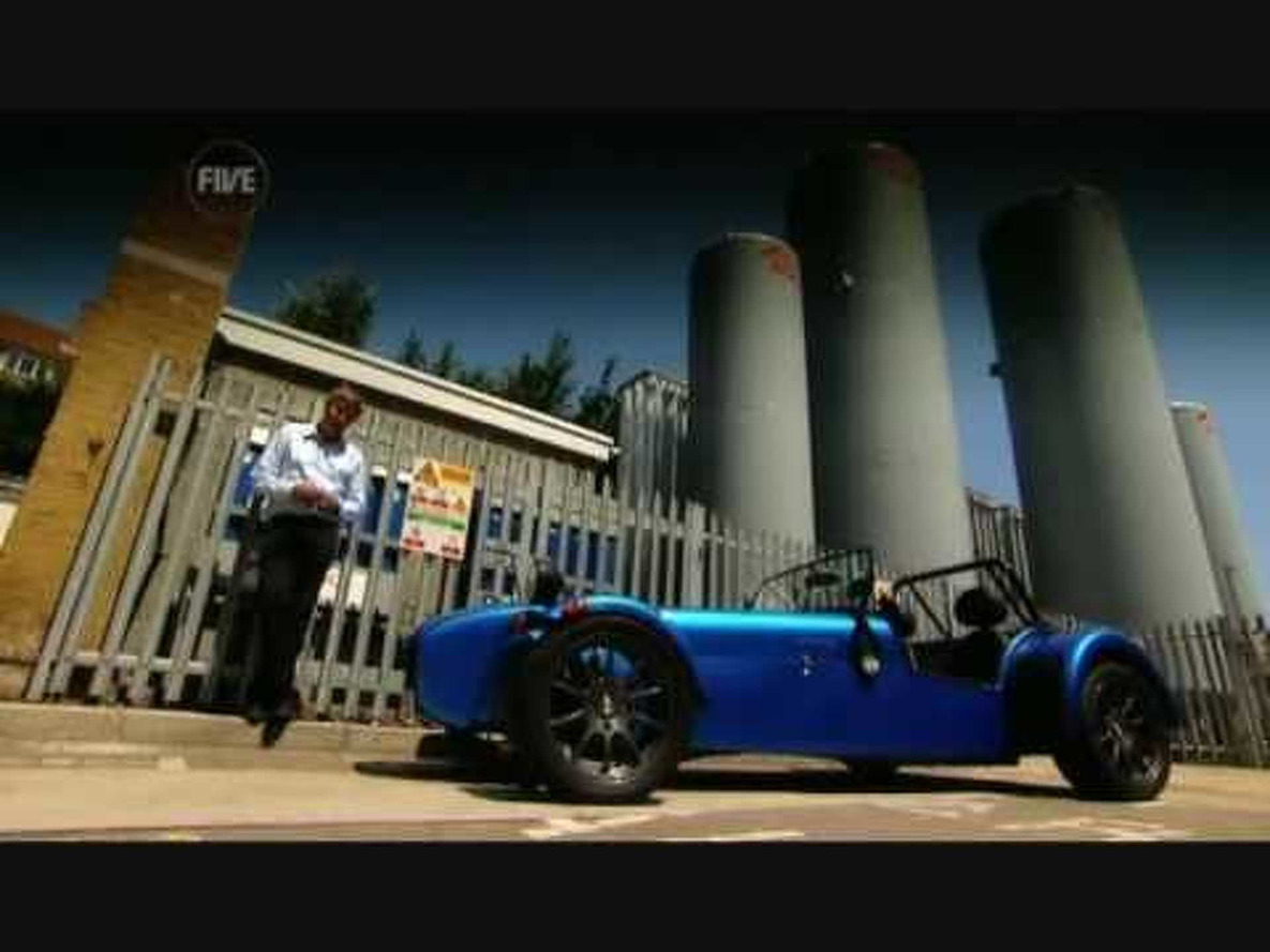 Fifth Gear Caterham Roadsport 175 SV