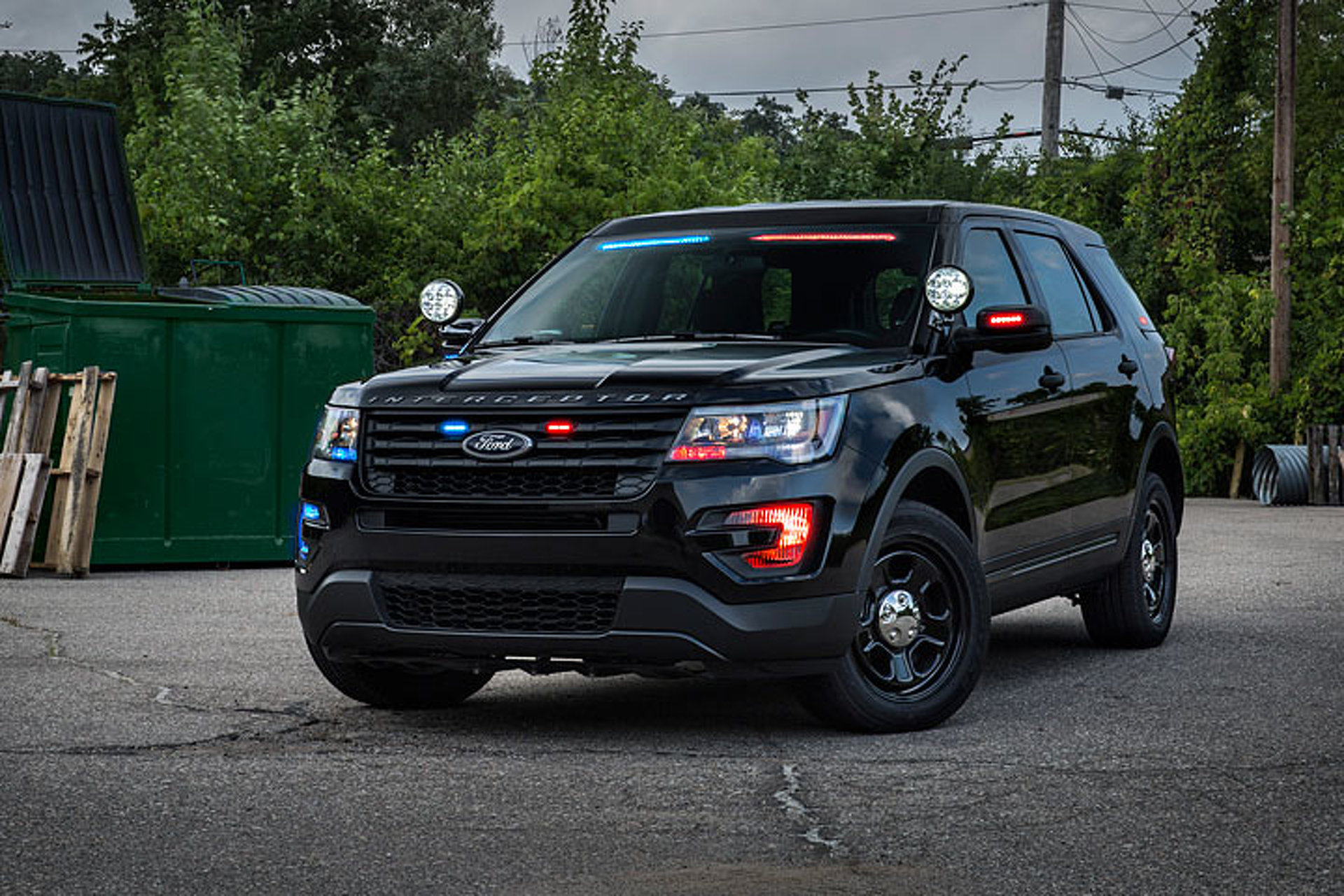 ford police interceptor utility   stealth