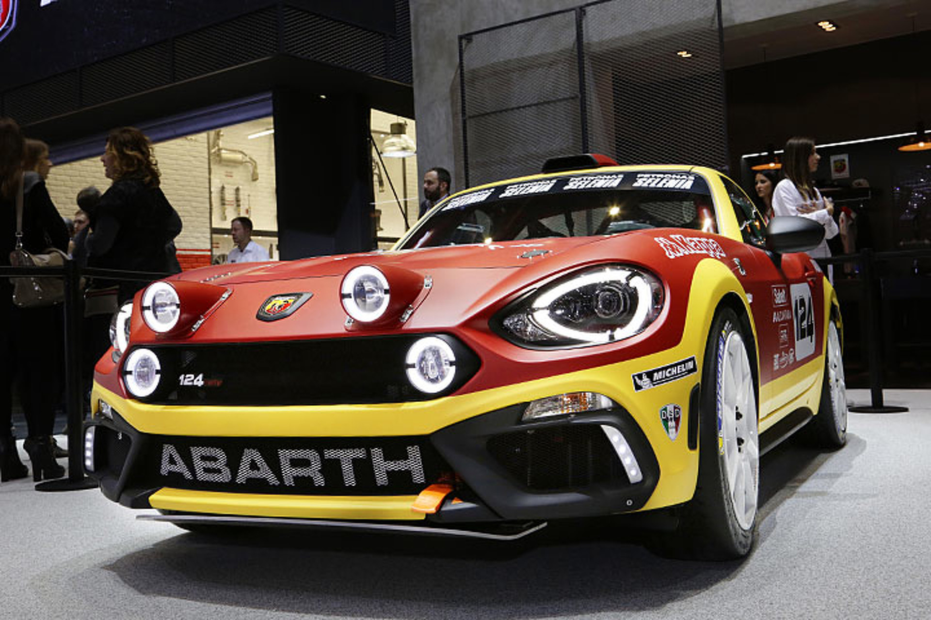 The 2017 Abarth 124 Rally is a 300-HP Dirt-Slinging Beauty