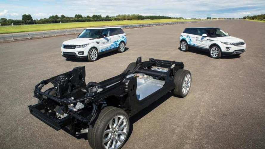 Land Rover unveils three new Concept_e research vehicles
