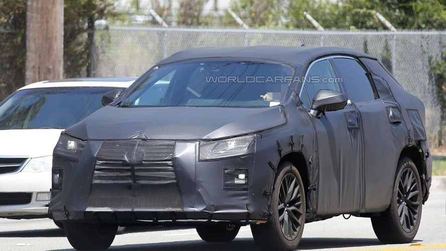 Lexus RX seven-seater spied for the first time