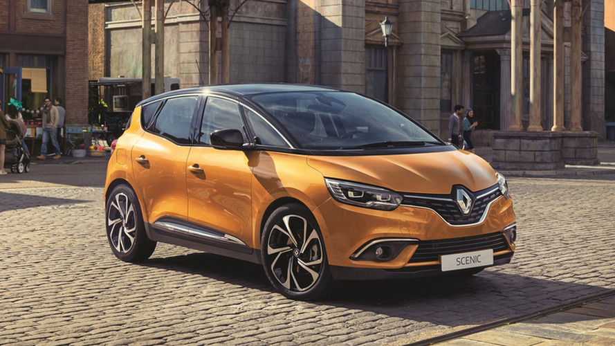 Renault Scenic leaks out early