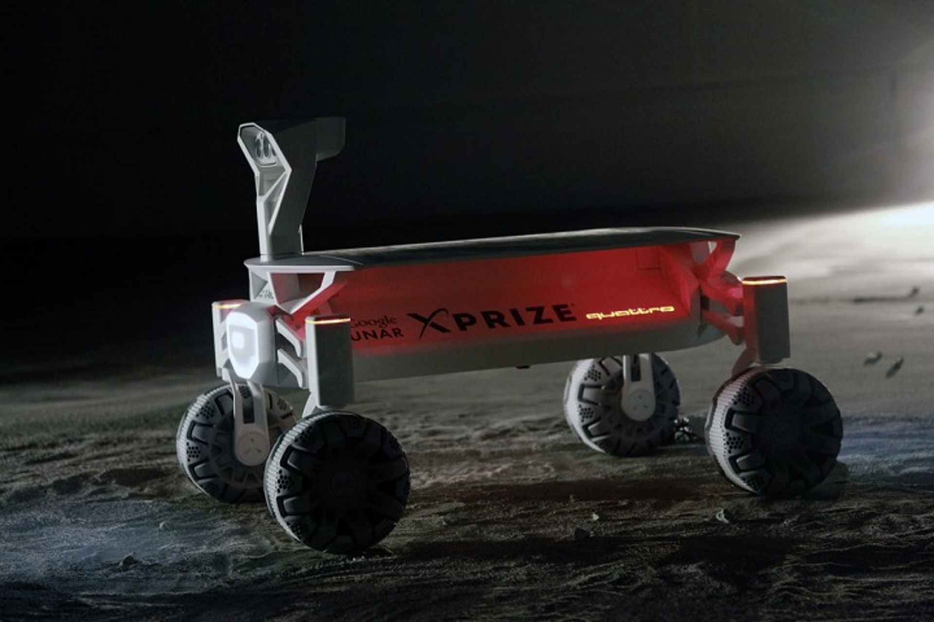 Audi Lunar Quattro Aims For The Moon in 2017