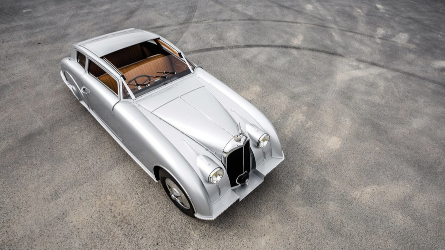 This Avion Voisin Aerosport may be the coolest car on sale at Monterey