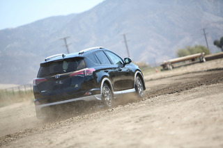 Kicking Up Dirt and Conquering Corners in a Rally-Ready Toyota RAV4