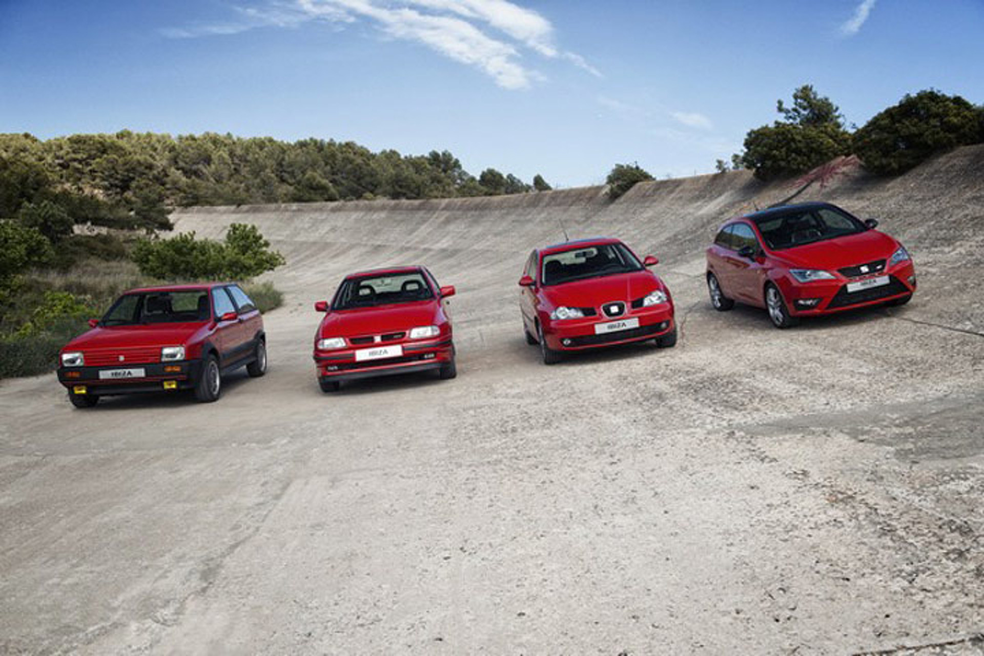 SEAT Celebrates 30 Years of the Ibiza