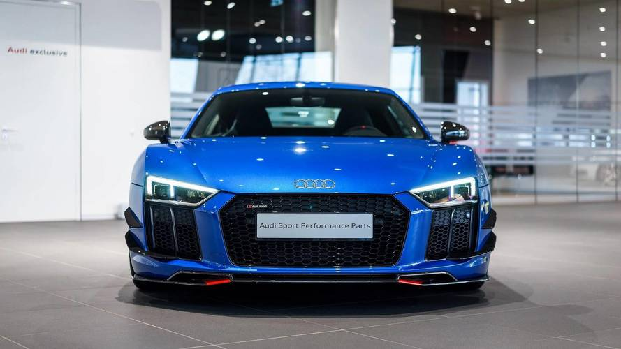 Audi R8 V10 Plus with Performance Parts