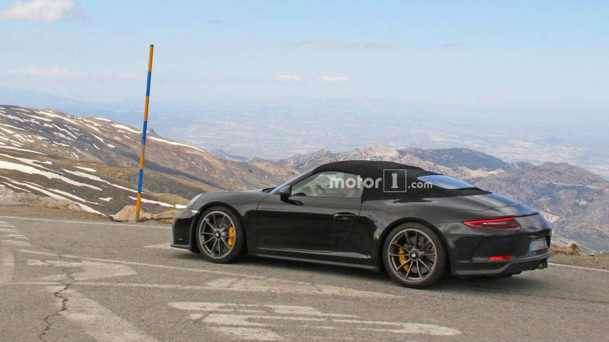 Porsche 911 Speedster Spied With A Very Dirty Rear End [UPDATE]
