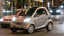 Smart ForTwo in 'The Da Vinci Code'