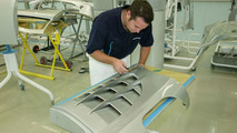 Special process of painting carbon fiber surface