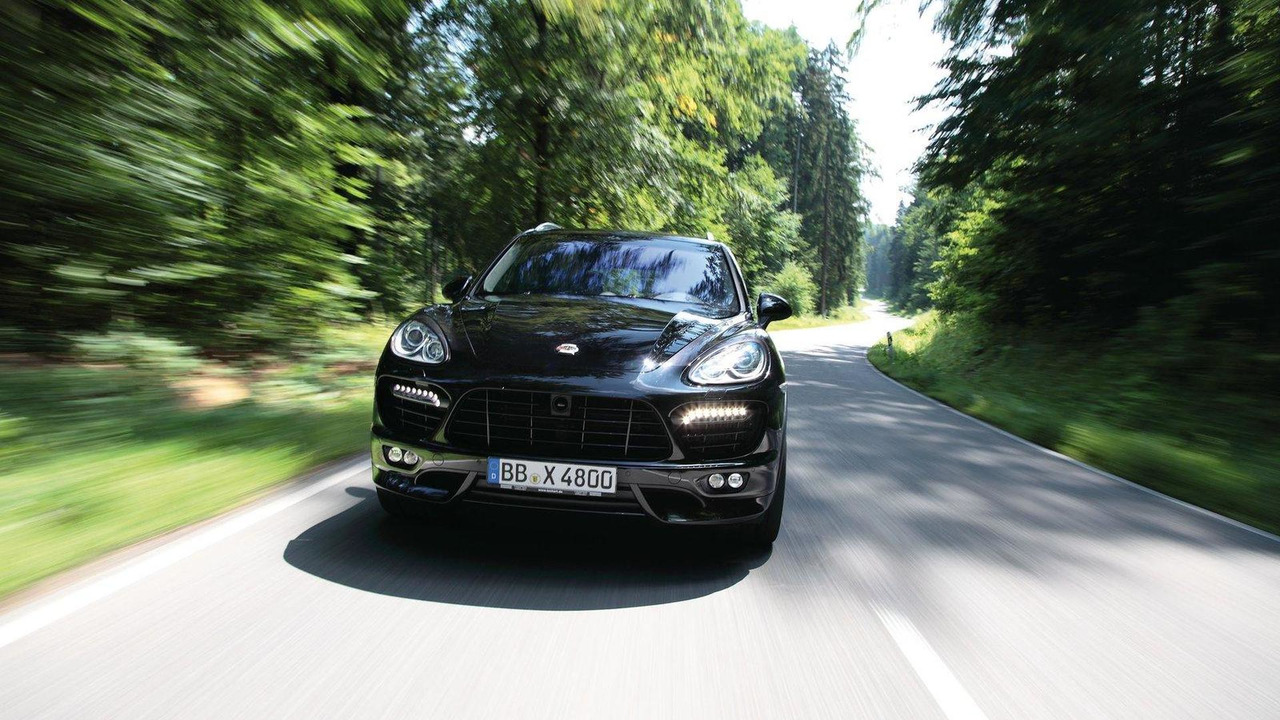 TECHART Stage 2 power kit for the Cayenne Turbo and Panamera Turbo 30.09.2011