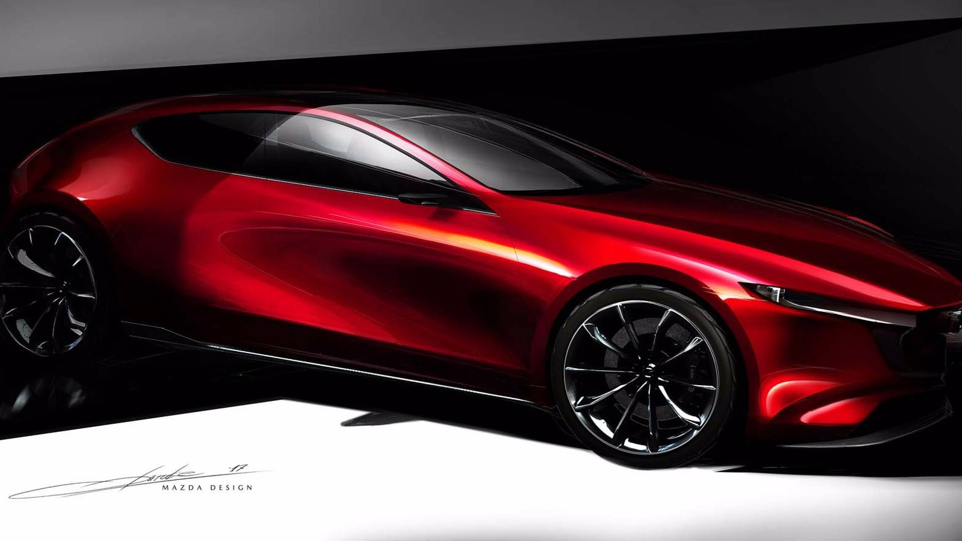 3de4b248db Mazda reveals KAI CONCEPT and VISION COUPE