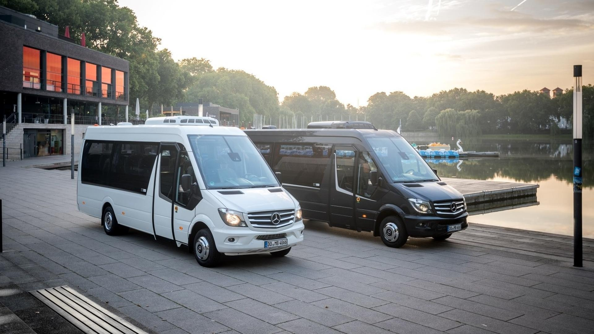 The minibuses based on the mercedes benz sprinter 2018 also gets to - The Minibuses Based On The Mercedes Benz Sprinter 2018 Also Gets To 39