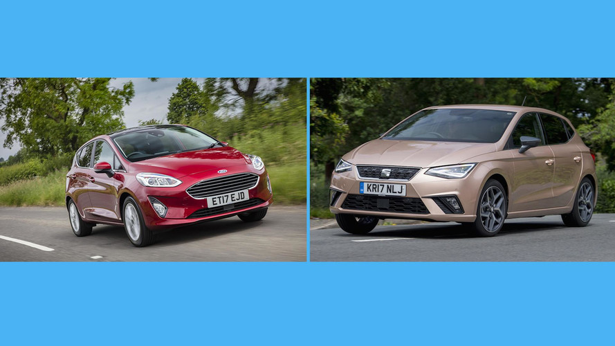 2017 Ford Fiesta Vs Seat Ibiza: The Numbers