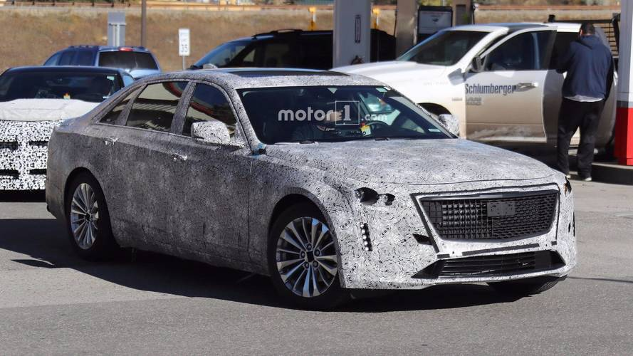 2019 Cadillac CT6 Prototype Shows Off Escala-Inspired Design Cues