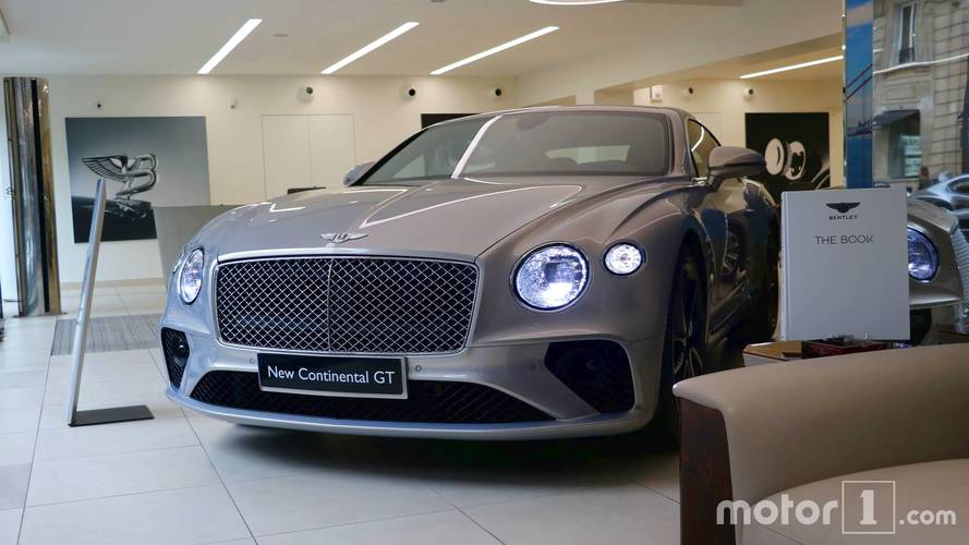 PHOTOS - La nouvelle Bentley Continental GT s'expose à Paris