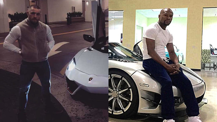 Mayweather VS. McGregor: Who Takes Worse Pictures Of Cars?