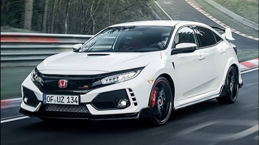 Nuova Honda Civic Type R, il record al Nurburgring torna suo [VIDEO]