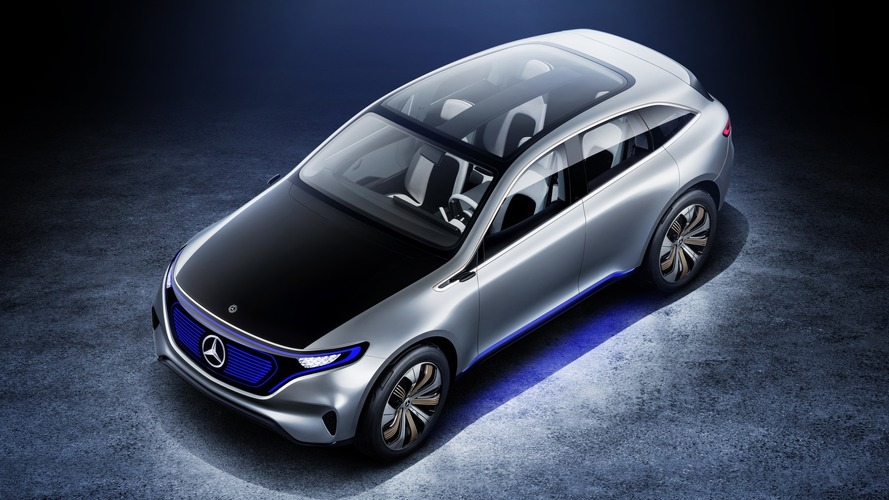Mercedes EQ SUV To Be Built In Alabama, $1B Investment Planned