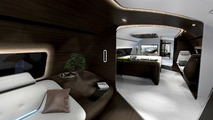 Mercedes-Benz Style aircraft, yacht interiors