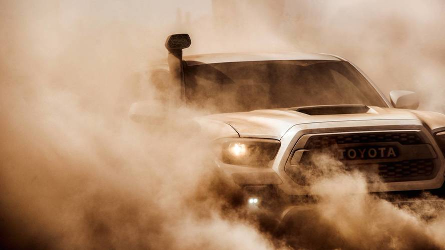 Toyota Teases 2019 TRD Pro 4x4s For Chicago Debut