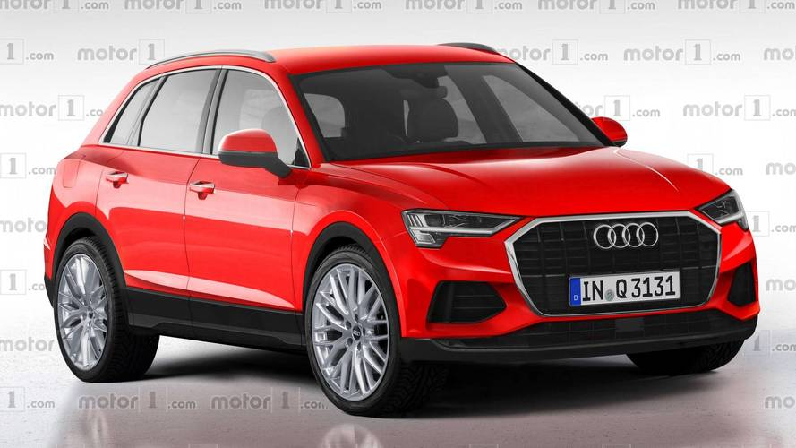 2019 Audi Q3 Render Is A Window Into A Predictable Near Future
