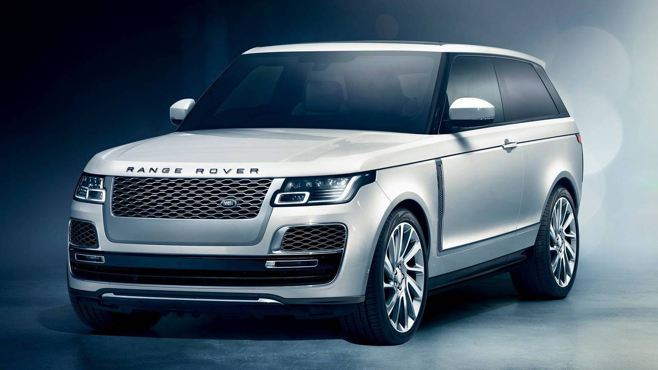 Range Rover SV Coupe 2019