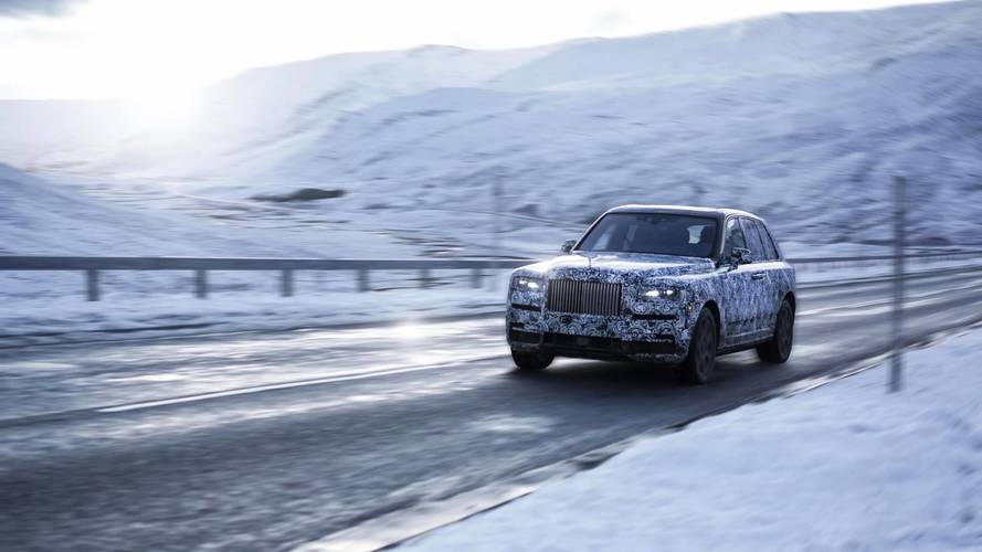 National Geographic joining Rolls for Cullinan's final testing