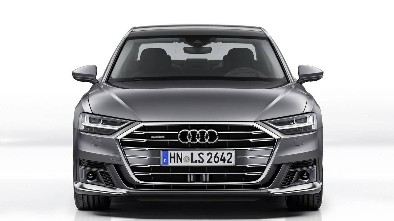 Audi A8 with Sport Package