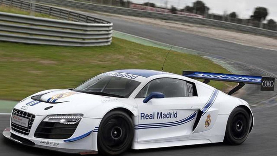 Audi presents R8 LMS Ultra Real Madrid Edition