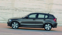 Revised 5 door BMW 1 series