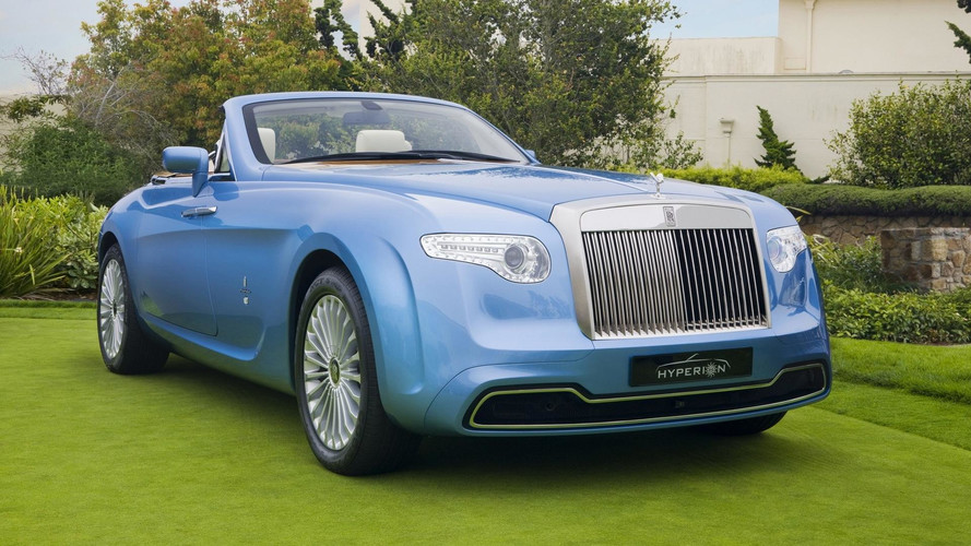 One-Off Rolls-Royce Hyperion By Pininfarina Demands $2.4 Million