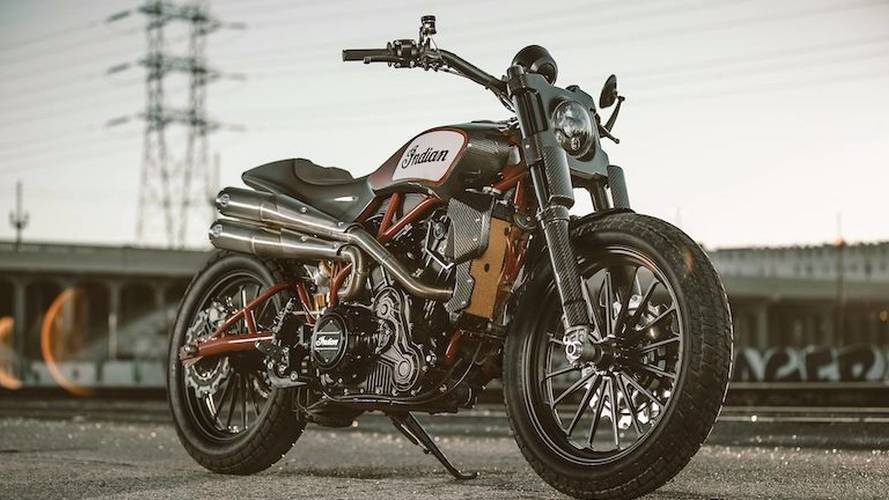 Indian Tortures Us All by Unveiling FTR1200 Custom