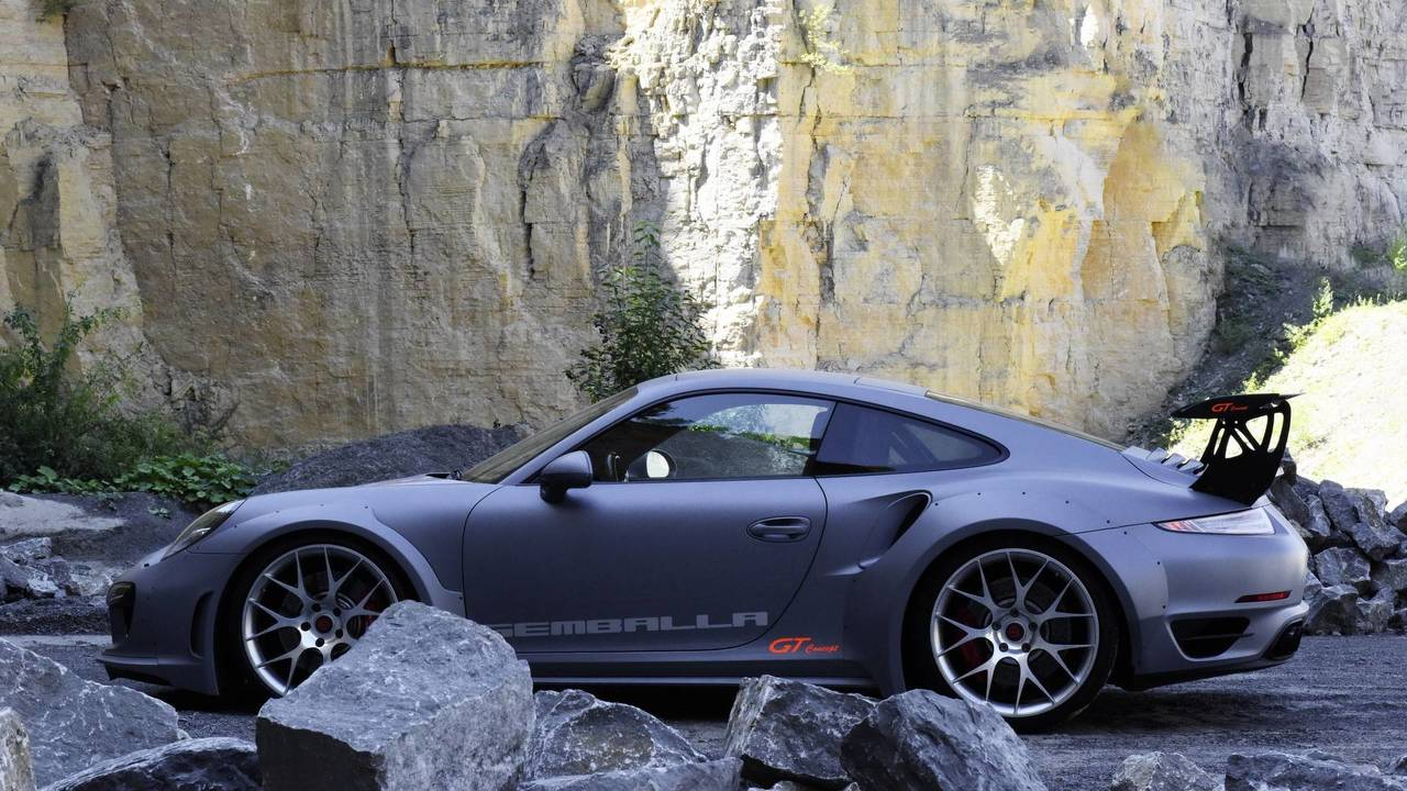 Gemballa GT concept based on Porsche 911 Turbo