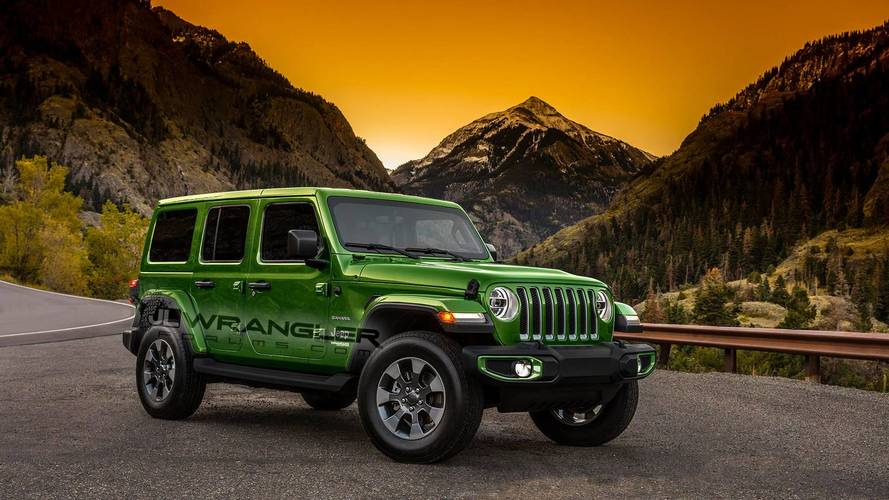2018 Jeep Wrangler Gets A Splash Of Color In New Renders