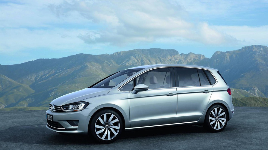 Volkswagen Golf Sportsvan concept unveiled, previews Golf Plus
