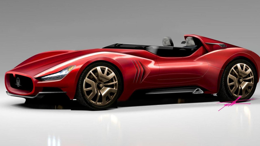 1957 Maserati 250S revived in modern day renders