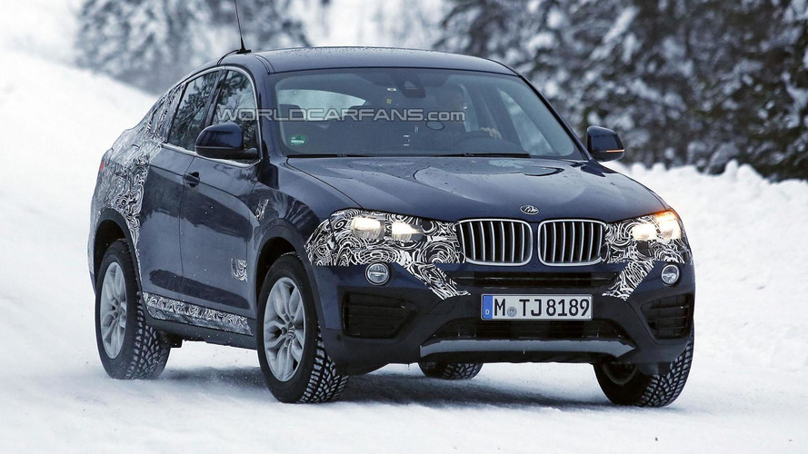 2015 BMW X4 spied wearing less disguise than ever before