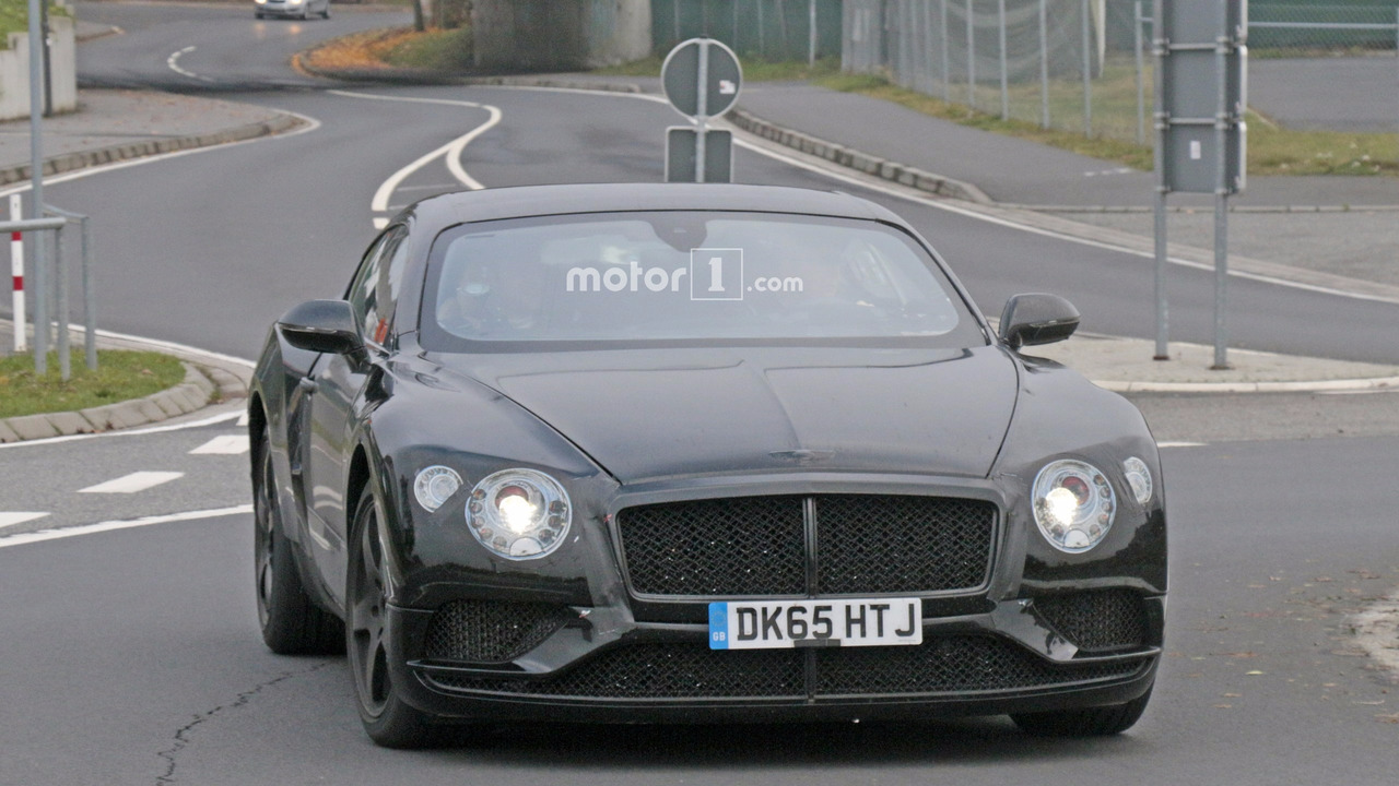 G70 Test Drive >> 2018 Bentley Continental GT, GTC stalked at the Nurburgring (29 photos)