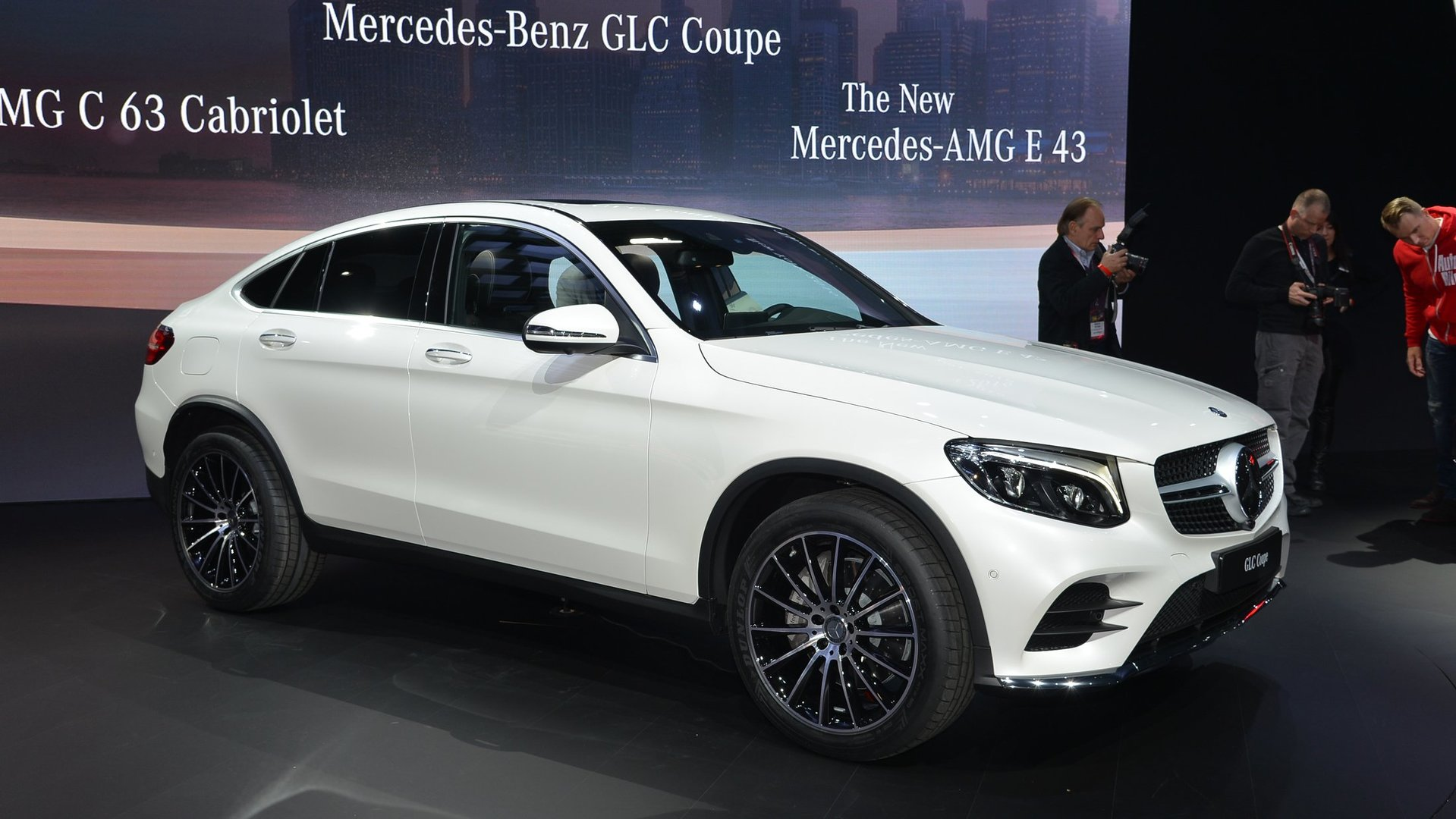 Mercedes 2019 Gle >> Mercedes GLC Coupe officially unveiled [videos]