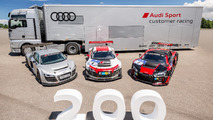 Audi builds 200th R8 LMS for customers