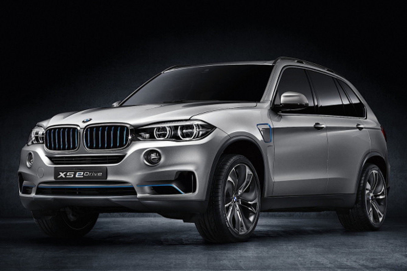 X5 eDrive Is How BMW Goes Green For SUVs