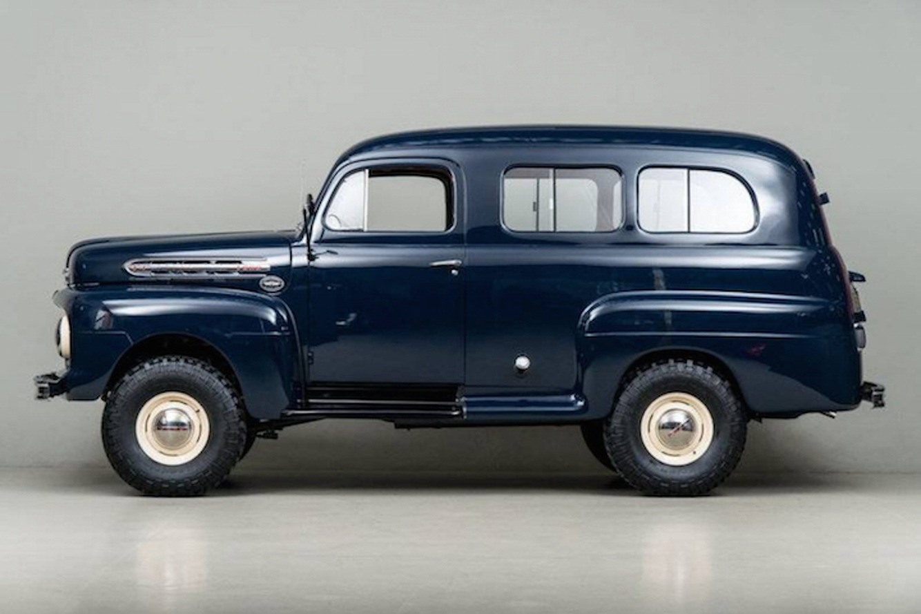 This 1951 Ford F1 Ranger Marmon-Herrington is Classic Adventuremobile Perfection