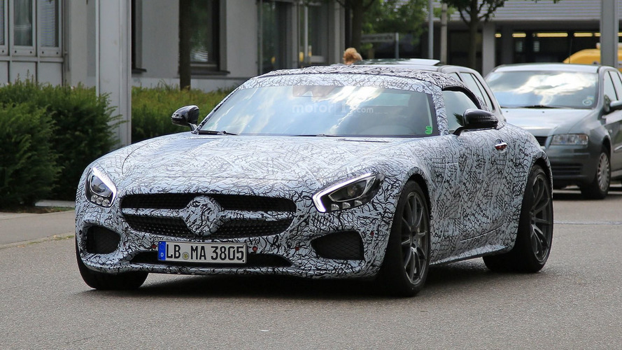 Mercedes-AMG GT C Roadster photo espion